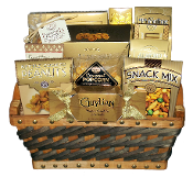 Classic Snacks Gift Basket by Thoughtful Expressions Gift Baskets Canada