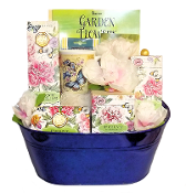 Peony Bath & Relaxation Luxury Gift Basket
