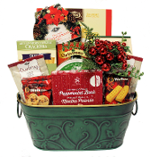 Winter Snacks Gourmet Christmas Gift Basket Canada