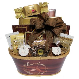 Chocolate Decadence Gourmet Gift Basket Canada Shipping