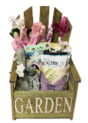 Garden Chair Planter Gift Basket