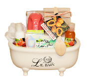 Papaya Mango Bath Tub Gift Basket