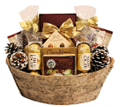 Chocolate Lover Christmas Gift Basket Canada