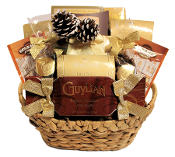 Christmas Snack Pack Gift Basket Canada
