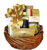 wine and cheese gift basket canada by thoughtful expressions