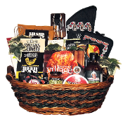 Beer Can Chicken Deluxe BBQ Gift Basket