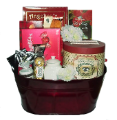 Tea Time Gourmet Gift Basket Canada