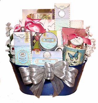 Relaxation & Sweet Temptations Spa Gift Basket