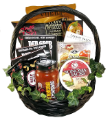 Gift Baskets for Men - Bachelor's Gourmet Basket