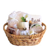 Himalayan Pink Salt Spa Gift Basket