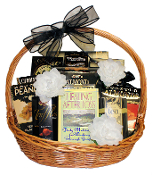 Sympathy Gift Basket designed by Thoughtful Expressions Gift Baskets in Fort St. John, BC. Canada wide shipping and local delivery is available.