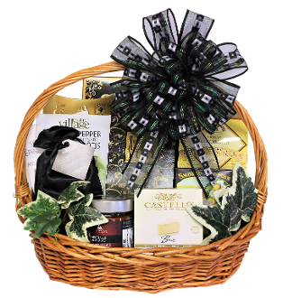 Savoury Sensations Gift Basket by Thoughtful Expressions Gift Baskets in Fort St. John, BC. Canada wide shipping and local delivery available.