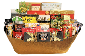 Christmas Cheer Assorted Gourmet Gift Basket Canada by Thoughtful Expressions